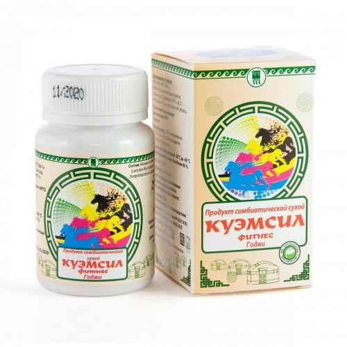 Продукт симбиотический КуЭМсил Фитнесс Годжи, таблетки, 60 шт