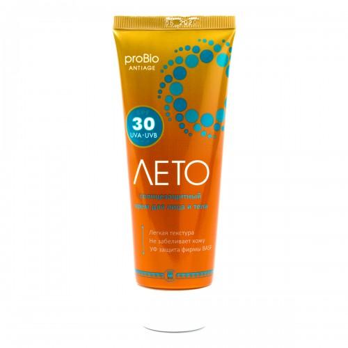 Крем солнцезащитный Лето SPF 30