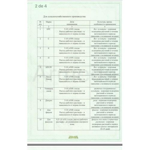 Удобрение комплексное для подкормки растений, Слокс-эко, 500 мл